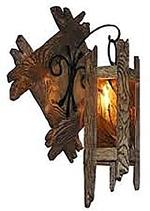 Светильники, люстры, торшеры, бра, канделябры, факелы... из массива дуба