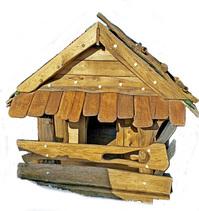 Домики, декоративные и функциональные