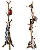 Вешалки дубовые